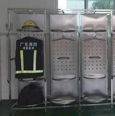 黄陵消防专用双面旋转救援服架代理商