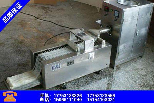 衡陽石鼓蒸面皮的機器有幾種發展必然
