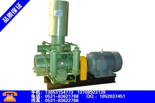 徐州贾汪化工厂专用污水处理罗茨鼓风机产品