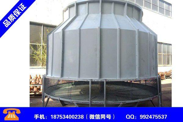 聚氯乙烯凉水塔填料冷却塔水是否有腐蚀发挥