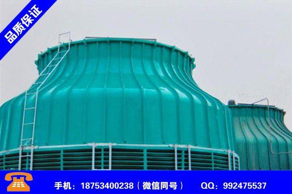 鹰潭月湖冷却塔填料作用工作课程