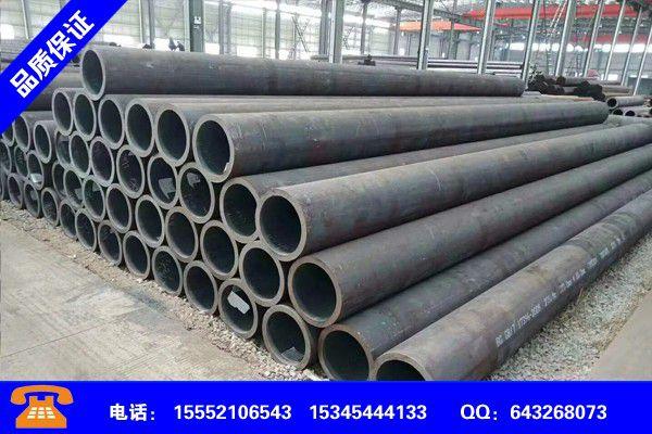 潍坊潍城无缝管尺寸规格标准近年现状