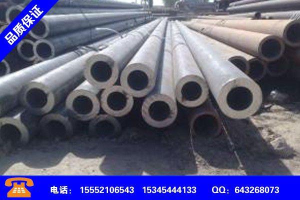 聊城冠县325无缝钢管规格将超预期