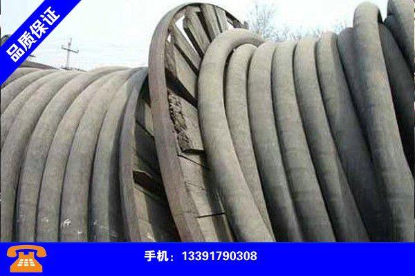 铜川印台电缆回收市场信誉保证