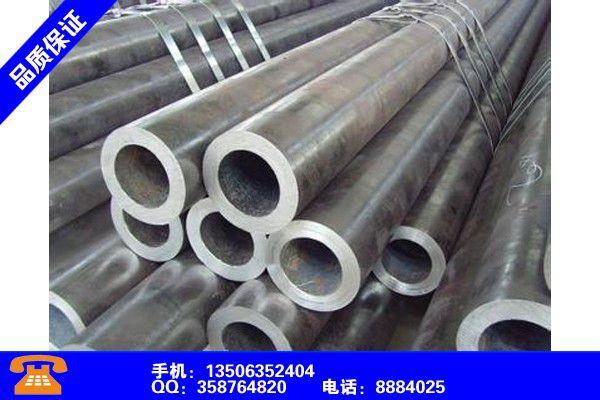 六安金安27SiMn鋼管的長度尺寸表服務