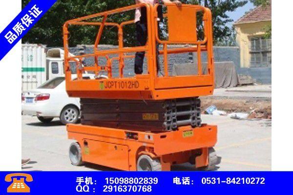 儋州文昌導軌式升降平臺的結構新產品