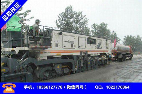 甘孜藏族鄉城冷再生機教程制造費用