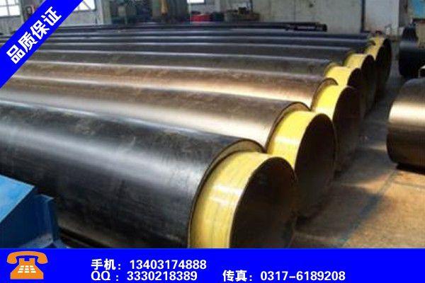 佛山高明聚氨酯保温钢管材有序推进