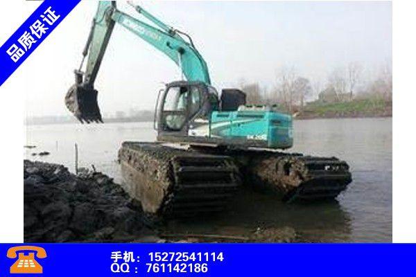 永州道县水上漂挖掘机租赁假一赔万