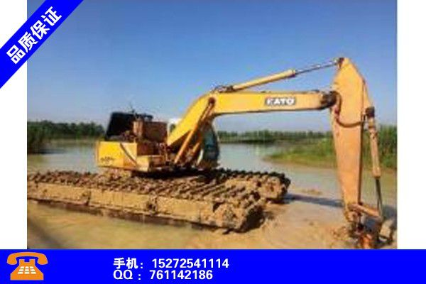 常德津水陆两用挖掘机出租产品的常见用处
