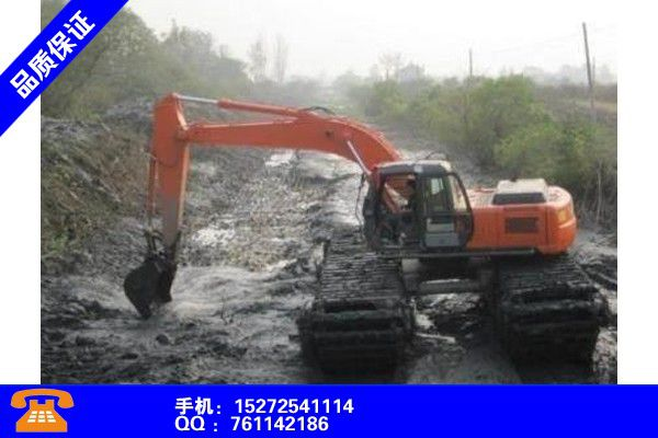 岳阳临湘水路两用挖掘租赁行业出炉