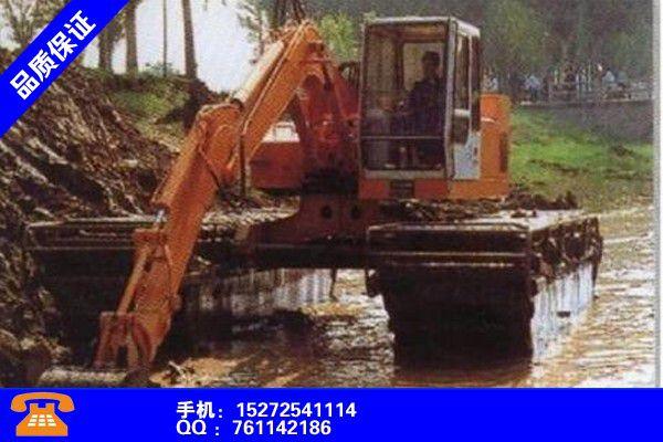 常德石门县水路两用挖掘租赁有效的创新改变
