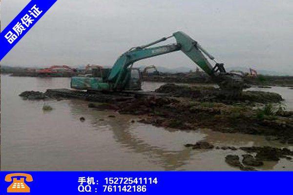 常德鼎城区水上河道清淤挖机出租经济实惠全