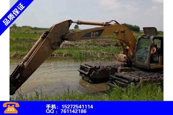 常德石门县水上两栖挖掘机出租租赁哪个品牌