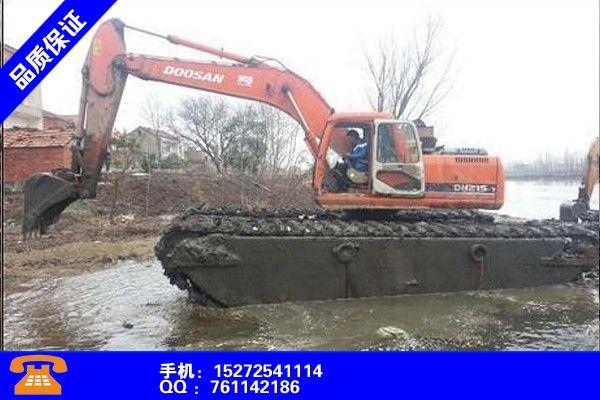 广州增城区水上挖机出租租赁行业研究报告