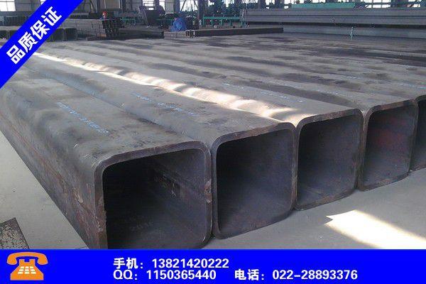 甘南藏族卓尼热镀锌方管尺寸表便宜价格