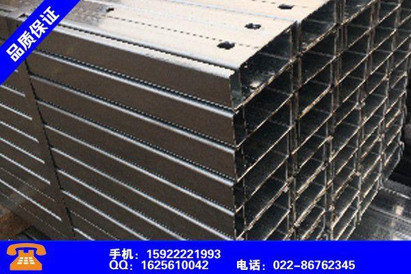 黔东南钢墙梁C型钢檩条安全性能