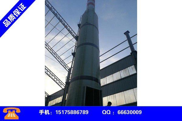 通遼科爾沁左翼后旗玻璃鋼脫硫塔制作過程全