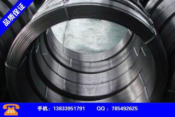 晋城阳城耐磨药芯焊丝损失系数质量过硬