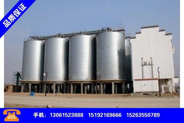 河池宜州大型钢板仓好厂家供货