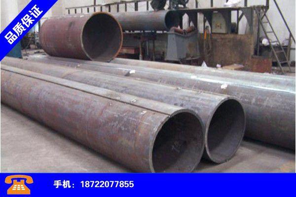 哈尔滨尚志直缝焊管外径和壁厚行业出炉