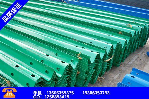 甘孜藏族泸定三波喷塑护栏板规格及重量详解好