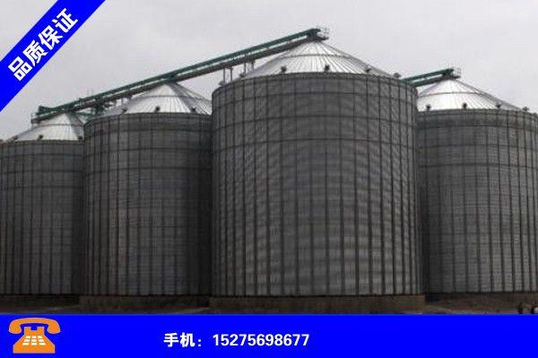 安庆迎江大型钢板仓聚焦行业