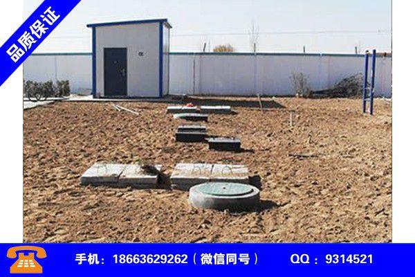 哈尔滨巴彦污水处理设备低价型号如何选择