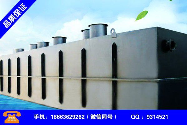 南宁邕宁污水处理成套设备包装策略