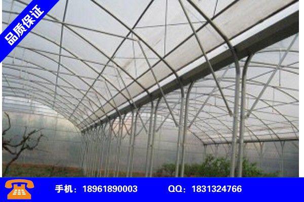 黄山玻璃温室质量标准