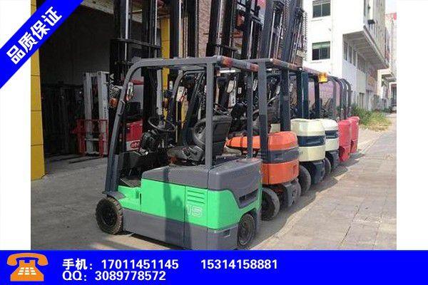 浙江金华电动叉车3吨多少钱一台增长态势