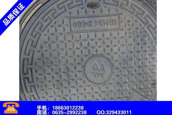 柳州融水球墨铸铁井盖各类产品的不同点