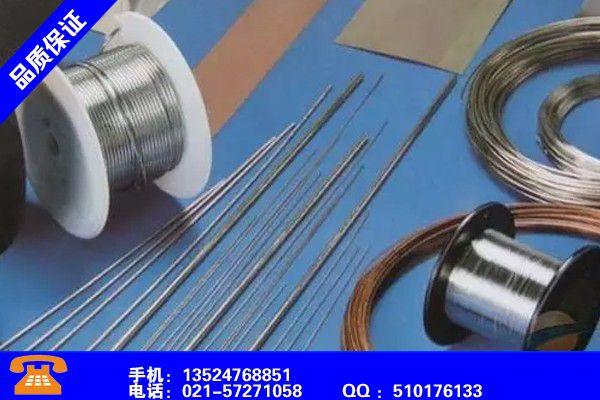 淮南田家庵耐磨药芯焊丝的用途赢得市场