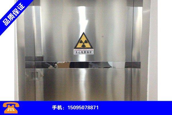 福建宁德防辐射铅门生产厂家各类产品的不同