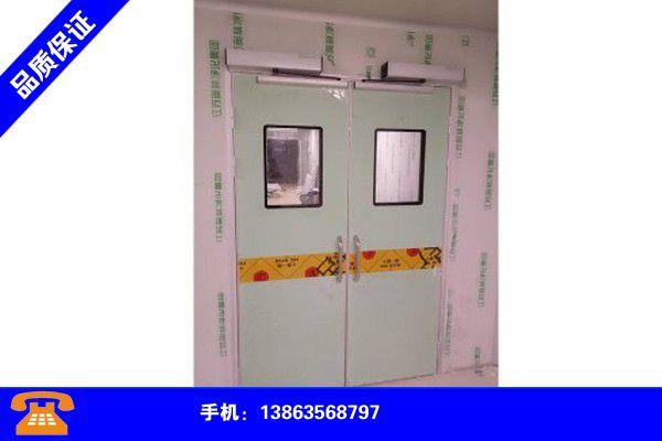 漳州平和钢制病房门安装规范要求信誉保证