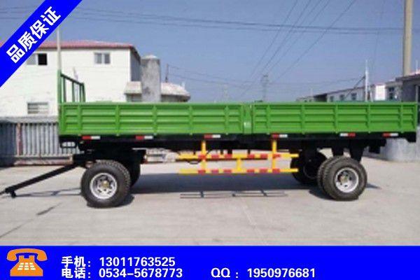 鄂尔多斯杭锦旗农用拖车的优点全面品质保证