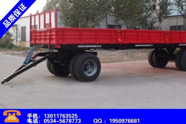 内蒙古兴安盟拖拉机自卸拖车厂家行业战略机