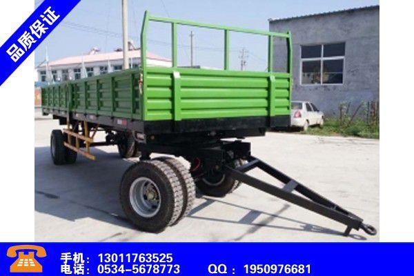 榆林绥德设备拖车品质风险