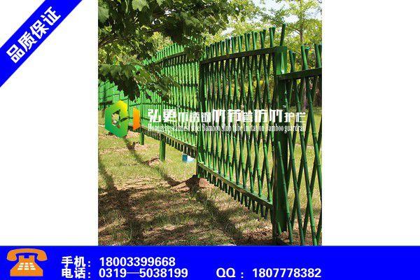 重庆北碚仿竹护栏品质提升