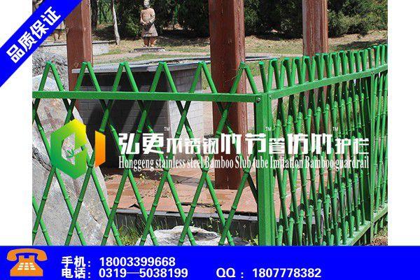 朝阳喀喇沁左翼景观护栏批发厂家欢迎您订购