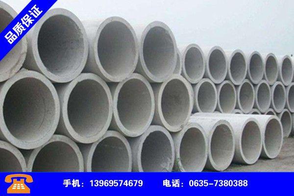 汶上县水泥排水管安装规范行业战略机遇