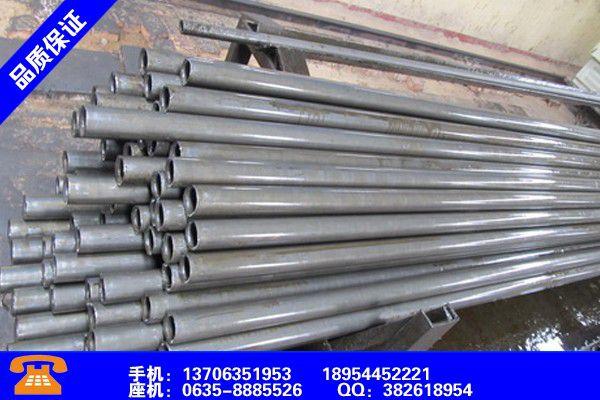 郑州管城回族Q345B精轧无缝钢管赢得市