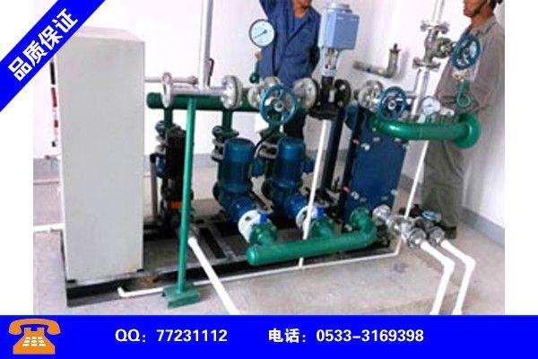 临沧沧源佤族换热机组循环泵的作用变谋发展