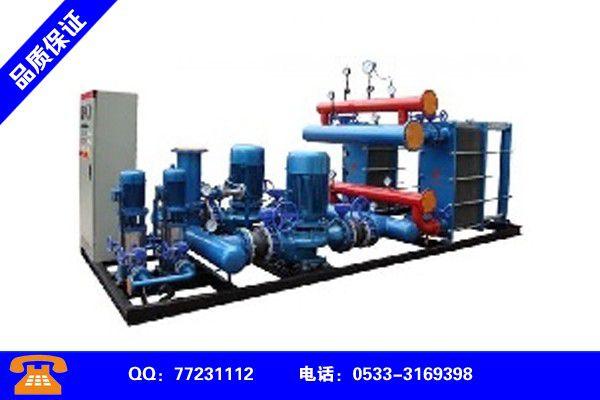 鹰潭贵溪换热机组管径的确定企业产品