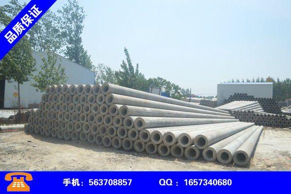 赣州信丰水泥电线杆厂家产品的区分鉴别方法
