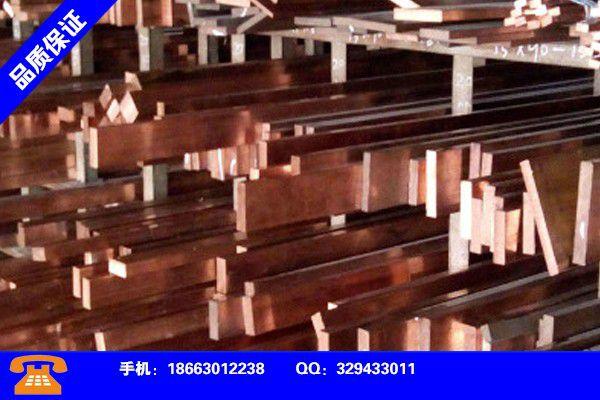 吉林四平T2紫铜带加工产业形态是什么