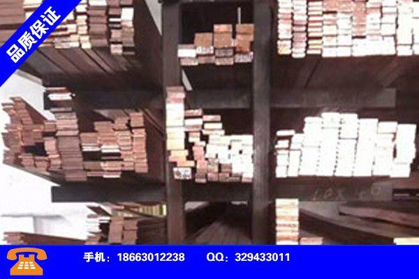 西藏昌都T2紫铜带安装操作注意事项