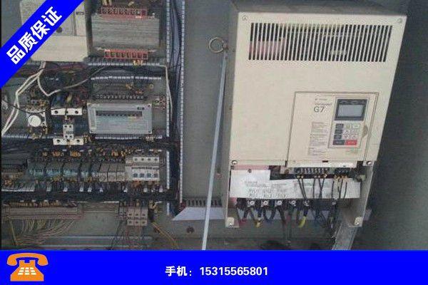 衢州江山變頻器維修公司價格實惠