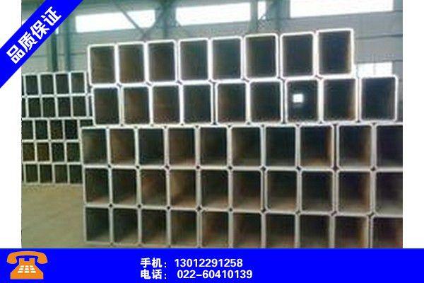 四川阿坝镀锌方管标准尺寸设计品牌