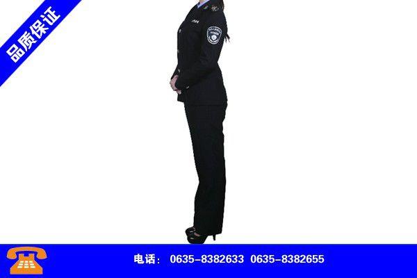 山东济宁标志服现货齐全价格优惠